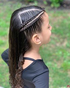 Lovely Kids Braided Hair Ideas For 2020 New Trendy Hair Ideas Cool Braid Hairstyles, Easy Hairstyles For Long Hair, Baddie Hairstyles, Braids For Long Hair, Hairstyles With Bangs, Trendy Hairstyles, Funny Hairstyles, Kids Hairstyle, Black Hairstyle