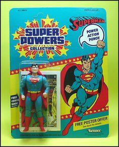 Superman toy I had as a kid. Wish I had it now.