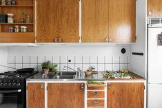 kitchen wood white interior design