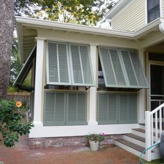 shutters on a porch - Google Search