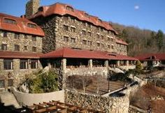 Grove Park Inn in Asheville is a very special place! Giant fireplace and rocking chairs, Gingerbread House Festival, incredible artists gallery, and great cookies to go with your afternoon coffee as you enjoy the view!