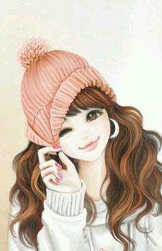 Imagen de girl and cute