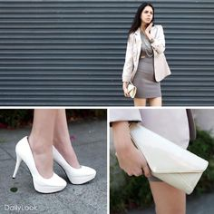 love the clutch and shoes