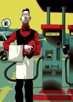 fuel - The Illustration of Baran Sarigul