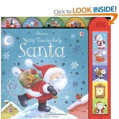 Noisy Touchy-feely Santa Usborne Touchy-Feely Books: Amazon.co.uk: Sam Taplin, Janet Samuel: Books