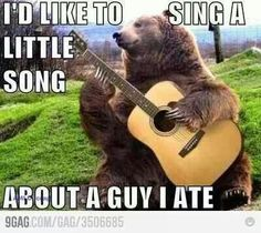 Bear Dylan Capshun Contest: Runner Up! - Funny Animal Memes and GIFs that are pure comedy gold. Funny Cute, Funny Jokes, Hilarious, Funny Stuff, Funny Pics, Random Stuff, Funny Animal Pictures, Funny Animals, Dog Cat