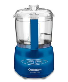 Take a look at this Dark Blue Mini-Prep Plus Food Processor by Cuisinart on #zulily today!