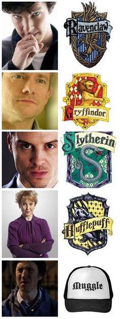 Sherlock, Harry Potter crossover