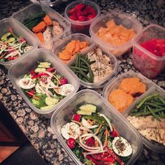 WELLNESS WEDNESDAY: Meal Prepping 101. Save time during the week by doing all of your cooking and prep work on Sunday.
