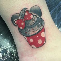 I want a Minnie Mouse cupcake tattoo!