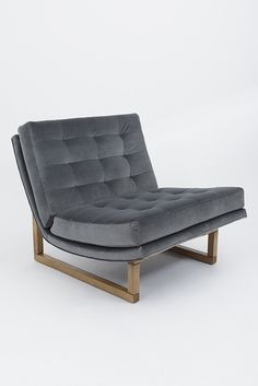 Griffin Chair with Smoked Oak Base by Lawson-Fenning