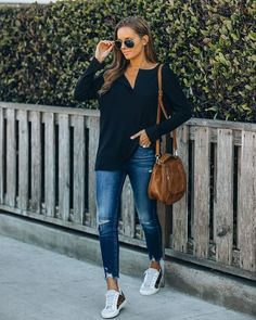 Tops – Page 20 – VICI Dress Bar, Facebook Style, Striped Scarves, Ribbed Fabric, Casual Tops, Spring Summer Fashion, Black Tops, Long Sleeve Tops, Fitness Models