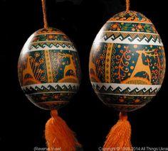 Ukrainian Easter Egg Pysanky PYS14044  by Iryna Vakh  from the Lviv  on AllThingsUkrainian.com