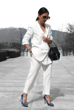 TWO WAYS TO WEAR: THE CLASSIC WHITE SUIT! 17/05/2017 Leave a Comment