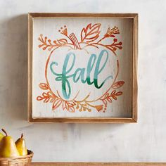 A lovely little signal of fall's arrival, our wall decor is simple, homespun and perfect for that spot in your kitchen, bath or hallway that needs a touch of fall. Fall Home Decor, Autumn Home, Thanksgiving Decorations, Seasonal Decor, Thanksgiving Holiday, Hosting Thanksgiving, Fall Decorations, Christmas, Holiday Decor