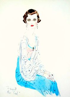 Illustration by Cecil Beaton.