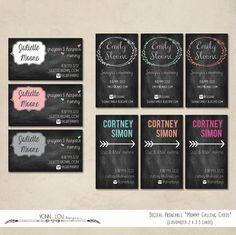 Sweet Treats Chalkboard Bakery Business Card | Bakery business ...