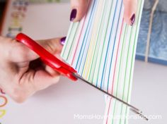 Making a Straw Whistle - Toddler Music Activity - Homemade Instruments - momshavequestinostoo.com