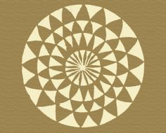 beautiful floorcloths | Crop Circles - Studio Bliss Floorcloths