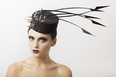 'Against the Prey'  available at www.alexandraharpermillinery.com