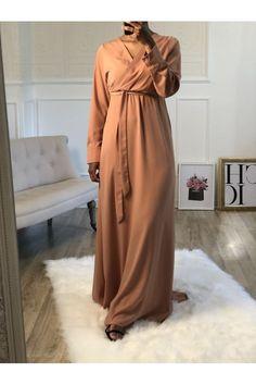 ROBE CACHE COEUR ZAYNAB SAUMON - Mayssa Duster Coat, Jackets, Fashion, Salmon, Dress, Down Jackets, Moda, La Mode, Fasion
