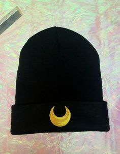 Sailor Moon *Inspired* Crescent Moon Beanie // Moon Child // Luna