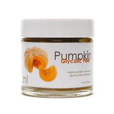 Organic Regenerating Glycolic Peel.  Ginger, Fermented Pumpkin, Willow Bark. Mature, Acneic, Congested, Environmentally Damaged.. $28.00, via Etsy.