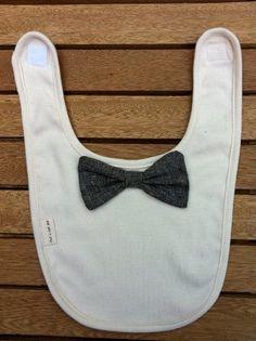 Trend alert: baby bow tie bib!