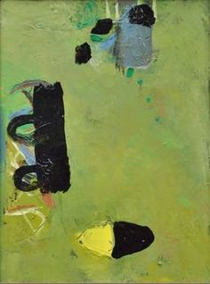 Abstract painting 1 by artist Gabriel Prundeanu