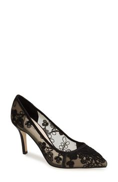 e43b0096cb7 Menbur Menbur  Delavigne  Lace Pump (Women) available at  Nordstrom Lace  Pumps