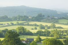 View from Hatch House across the countryside. Photograph Jake Eastham.