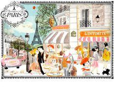 Springtime in Paris | The Snowflake Ball