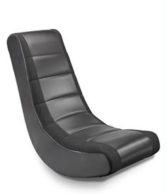 The faux leather vinyl makes it easy to clean; just wipe with a damp cloth. The Crew Furniture® Classic Video Rocker Original, classic video rocker style. The Crew Furniture®. Gaming Furniture, Gaming Chair, Furniture Chairs, Gaming Setup, Kids Furniture, Furniture Design, Entertainment Furniture, Home Entertainment, Races Style