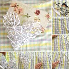 Paper hearth / Papierove srdce In this time almost everybody is buying paper hearts in florist, shop with decorations,.. I want to show you how you can do it for really cheap. Craft - DIY for chep, funny and beautiful decoration to your home. enjoy it