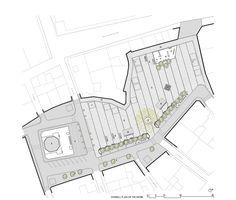 Squares In Puigcerdà,Plan