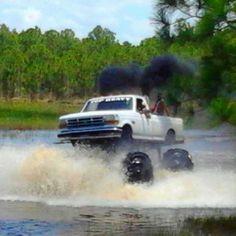 Ford f150 diesel :) monster truck