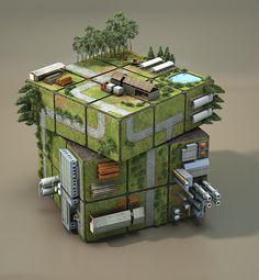 Magic Cube on Behance