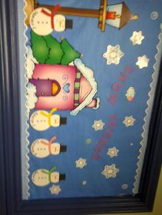 bulletin boards for infants | January Infant bulletin board | School