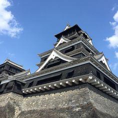 快晴なり 熊本城  #熊本城 #天守閣 #城 #晴れた日 #快晴ナリ #九州ノ旅 #九州 #戦国時代 #日本 #あおぞら #建造物 #kumamotojo #kumamotocastle #castle #sunny #kyushu #trip #japan #bleusky #building by leonidas1130