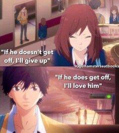 Anime : ao haru ride