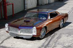 custom cars | custom muscle car rides 22 inch wheels has chopped roof lots of custom ...
