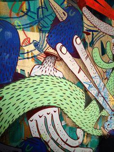 ALEXONE DIZAC http://www.widewalls.ch/artist/alexone-dizac/ #graffiti #street #art #urban #art