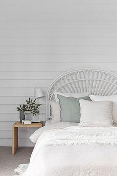 A stunning coastal bedroom from