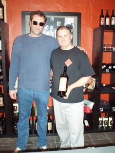Vince Vaughn visits the Sort This Out Cellars tasting room