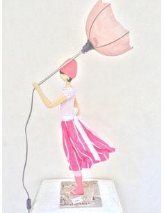 lampada da tavolo skitso Cristel