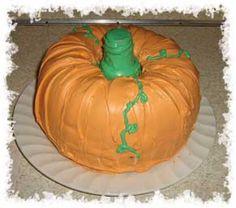 Pumpkin Bundt Cake | Garden Talk