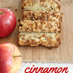 Apple Cinnamon Bread One of the most popular recipes out there-this amazing cinnamon apple bread recipe is the perfect fall dessert! (And makes your house smell amazing! Fall Desserts, Just Desserts, Delicious Desserts, Dessert Recipes, Yummy Food, Delicious Dishes, Health Desserts, Fall Recipes, Sweet Recipes