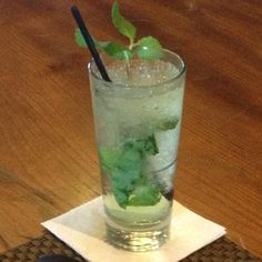 A classic mint julep. Bc who doesn't love a good classic?
