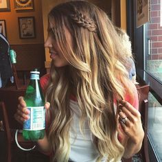 Looooove her hair Ombre Hair, Wavy Hair, New Hair, Balayage Extensions, Clip In Hair Extensions, Goddess Hairstyles, Cool Hairstyles, Hairstyle Ideas, Wedding Hairstyles