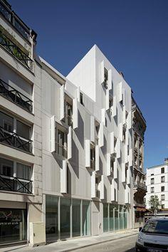 Vivienda Colectiva en Paris / Projectiles